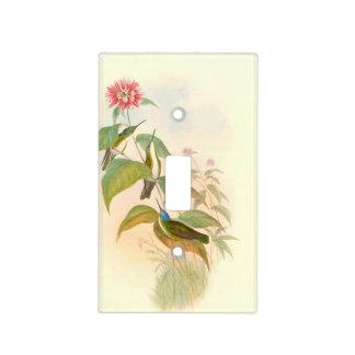 Hummingbird Birds Flowers Floral Animals Wildlife Light Switch Cover
