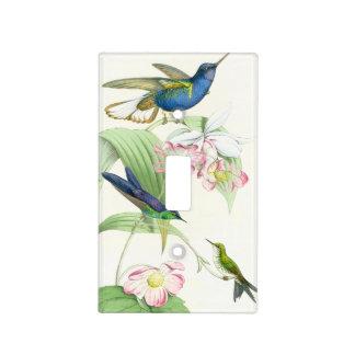 Hummingbird Birds Flowers Floral Wildlife Animals Light Switch Cover