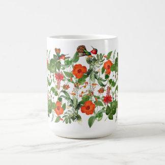 Hummingbird Birds Hibiscus Flowers Island Mug