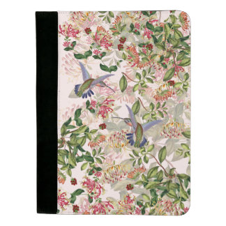 Hummingbird Birds & Honeysuckle Flowers Padfolio