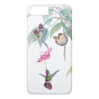 Hummingbird Birds Nest Floral Flower iPhone 7 Case