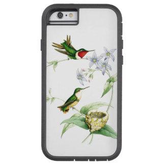 Hummingbird Birds Wildlife Animals Floral Nest Tough Xtreme iPhone 6 Case