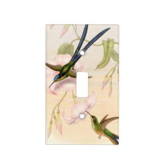 Hummingbird Birds Wildlife Animals Flowers Floral Light Switch Cover