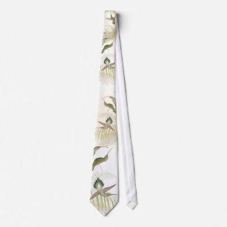 Hummingbird Birds Wildlife Animals Flowers Floral Tie