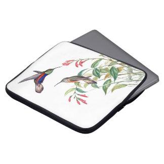 Hummingbird Birds Wildlife Animals Laptop Sleeve