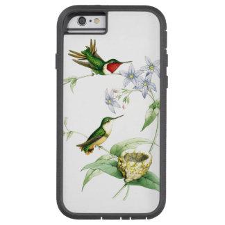 Hummingbird Birds Wildlife Animals Nest Floral Tough Xtreme iPhone 6 Case