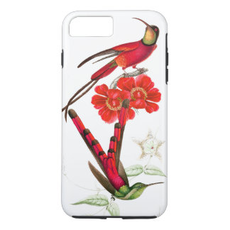 Hummingbird Birds Wildlife Flowers iPhone 7 Case