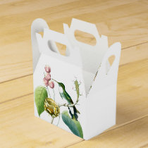 Hummingbird Birds Wildlife Nest Animal Flowers Favor Box
