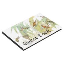 Hummingbird Birds Wildlife Nest Guest Book