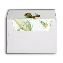 Hummingbird Birds WildlifeFlowers Floral Envelope