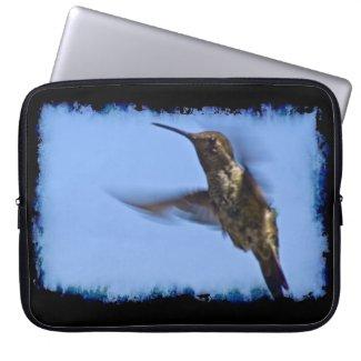 Hummingbird Black Edge Computer Sleeves