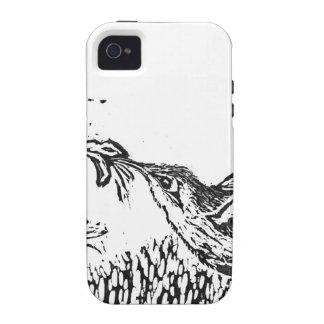 Hummingbird - Block Print Case-Mate iPhone 4 Case