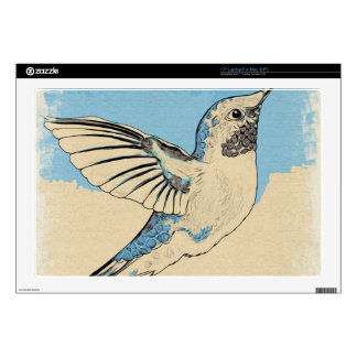 Hummingbird Blue 2 Laptop Skin