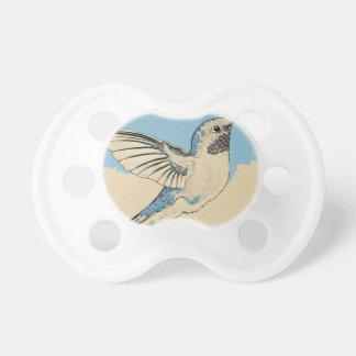 Hummingbird Blue 2 Pacifier