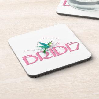Hummingbird Bride Drink Coaster