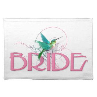 Hummingbird Bride Placemat