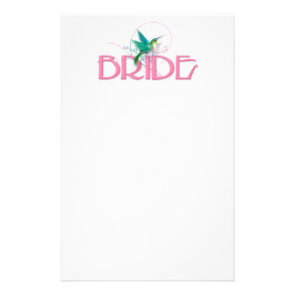 Hummingbird Bride Stationery