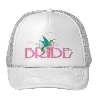 Hummingbird Bride Trucker Hat
