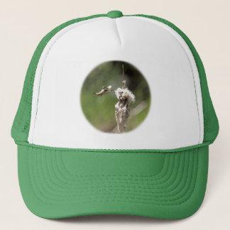 Hummingbird Building a Nest Trucker Hat