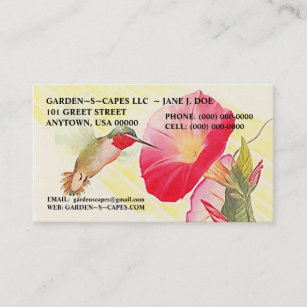 Throated hummingbird business cards templates zazzle hummingbird business cards make a statement reheart Gallery
