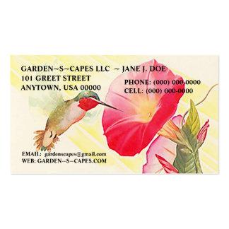 HUMMINGBIRD BUSINESS CARDS ~ MAKE A STATEMENT!