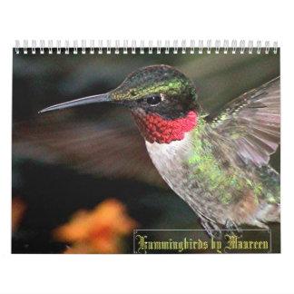 Hummingbird Calendar 1