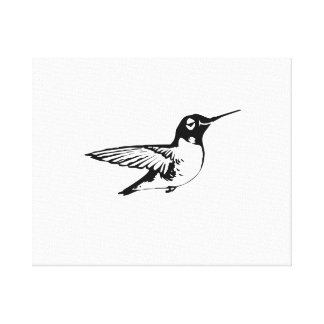 Hummingbird Stretched Canvas Print