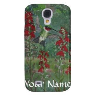 Hummingbird Cardinal Flowers Samsung S4 Case