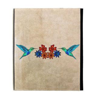 Hummingbird iPad Folio Cover