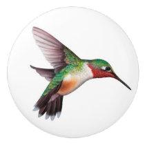 Hummingbird Ceramic Knobs and Pulls