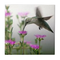 Hummingbird Ceramic Tile