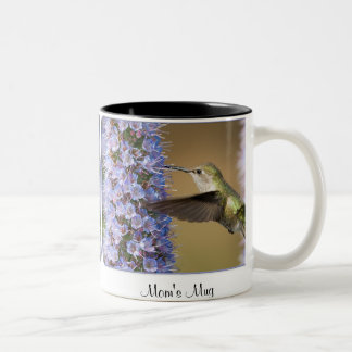 Hummingbird Coffee Mug - Custom text