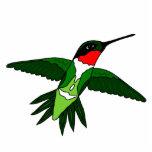 Hummingbird Cut Out Sculpture