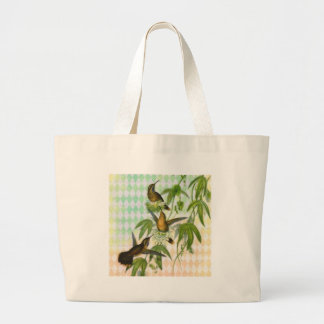 Hummingbird Digital Art Tote Bag