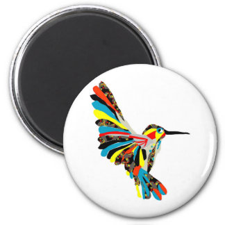 hummingbird drawing magnets