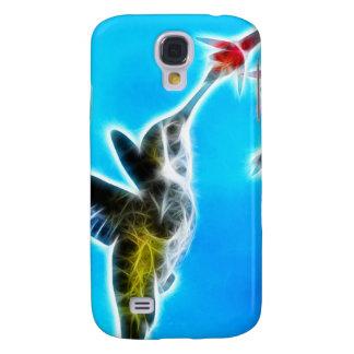 Hummingbird Eating Nectar Galaxy S4 Cases