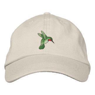 Hummingbird Embroidered Baseball Cap