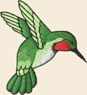 Hummingbird Embroidered Baseball Hat c8749869cc98