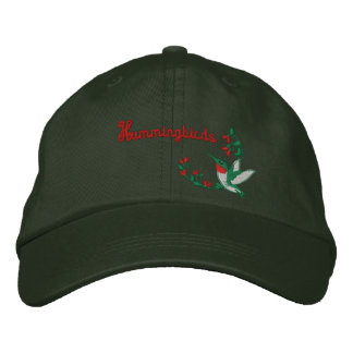 Hummingbird Embroidered Hat