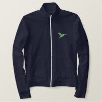 Hummingbird Embroidered Jackets