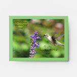 Hummingbird Envelope