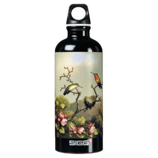 Hummingbird Family and Apple Blossom SIGG Traveler 0.6L Water Bottle