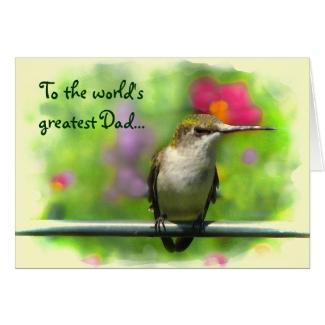 Hummingbird Fathers Day