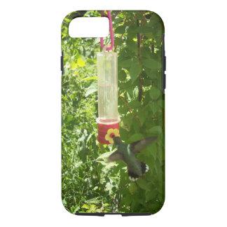 Hummingbird Feeding Time iPhone 7 Case