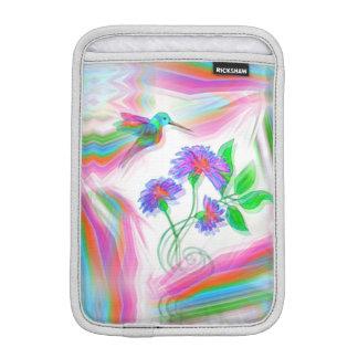 Hummingbird Flight Kaleidoscope iPad Mini Sleeve