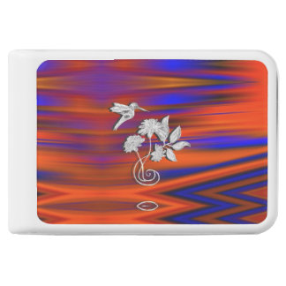 Hummingbird Flight Sunset Blush Power Bank