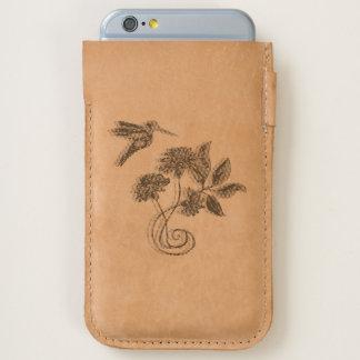 Hummingbird Flight Zazzle Heart iPhone 6/6S Case