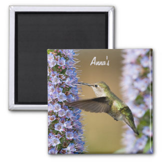 Hummingbird Flower Magnet