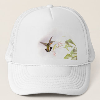 Hummingbird & Flowers Hat