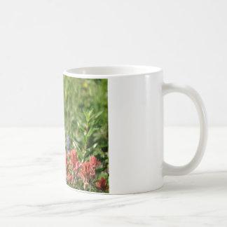 Hummingbird Flowers Classic White Coffee Mug